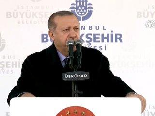 Cumhurbaşkanı Erdoğan açılış töreninde