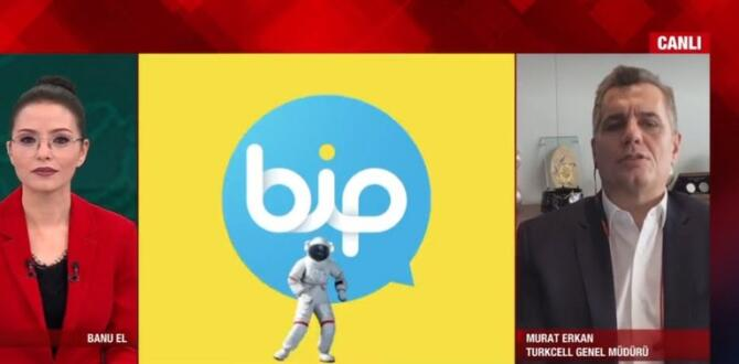 Son dakika: WhatsApp'tan BİP'e toplu geçiş! Turkcell Genel Müdürü Murat Erkan A Haber'de değerlendirdi